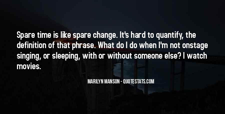 For Change Quotes #2550