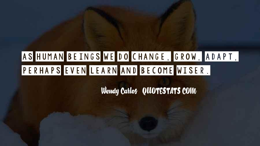 For Change Quotes #2726