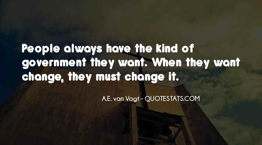 For Change Quotes #3552