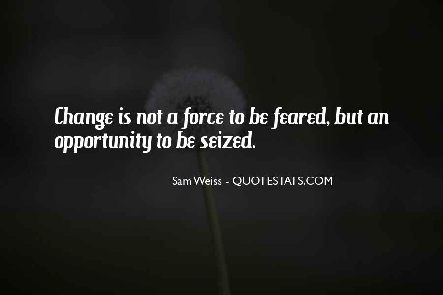 For Change Quotes #3834