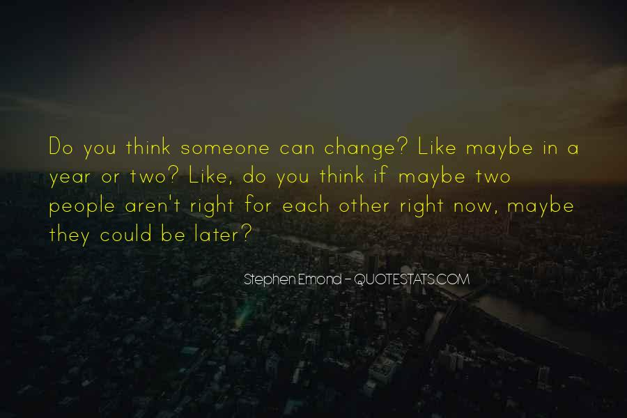 For Change Quotes #5377
