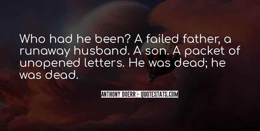 For Husband And Son Quotes #39497