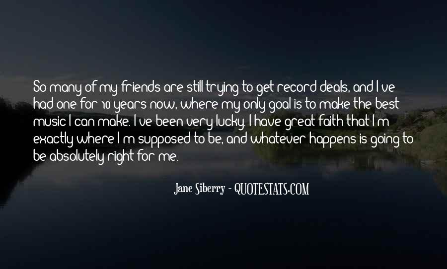 For My Best Friends Quotes #69825