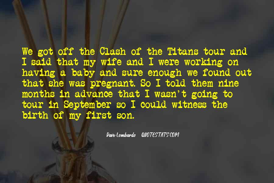 For My Pregnant Wife Quotes #746007