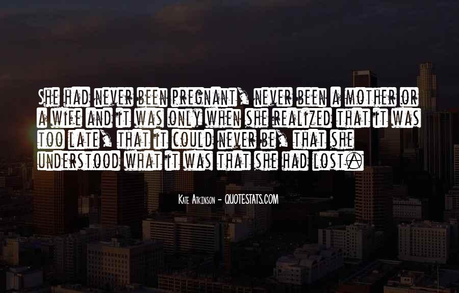 For My Pregnant Wife Quotes #833366