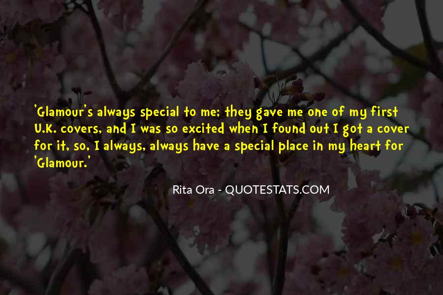 For My Special One Quotes #1050423