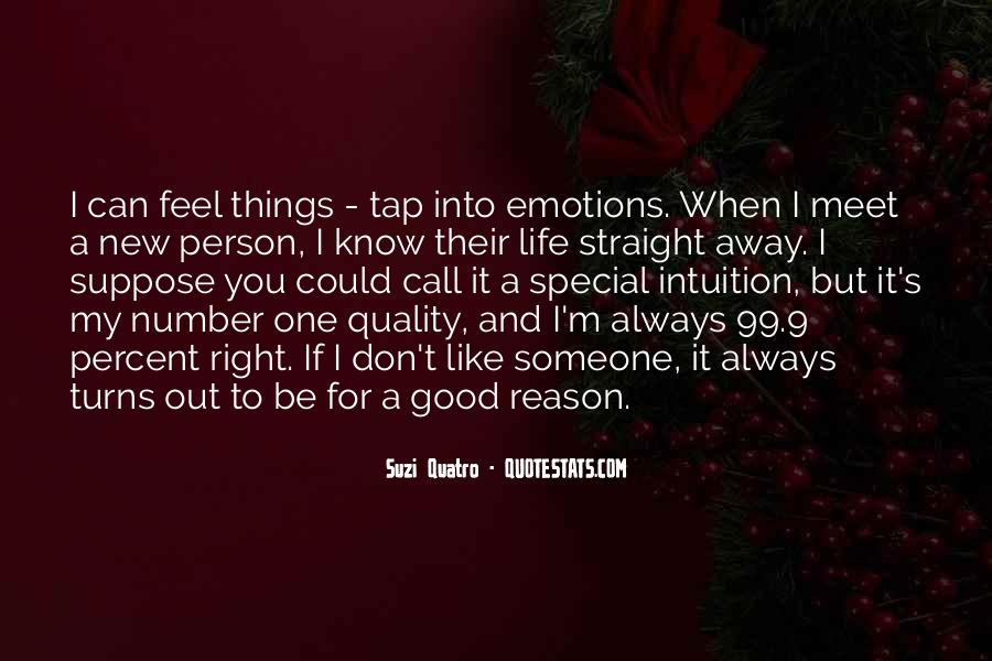 For My Special One Quotes #1394470