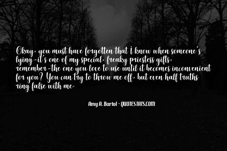 For My Special One Quotes #1487318