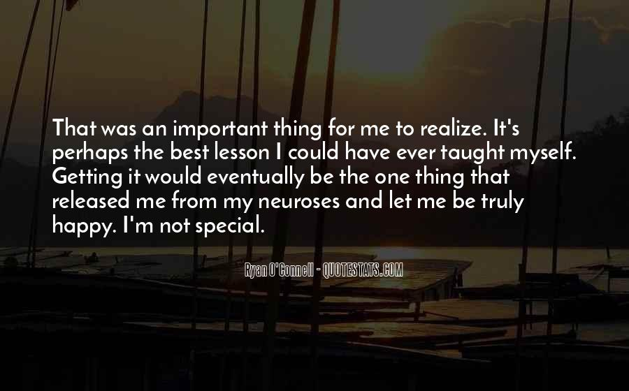 For My Special One Quotes #547862