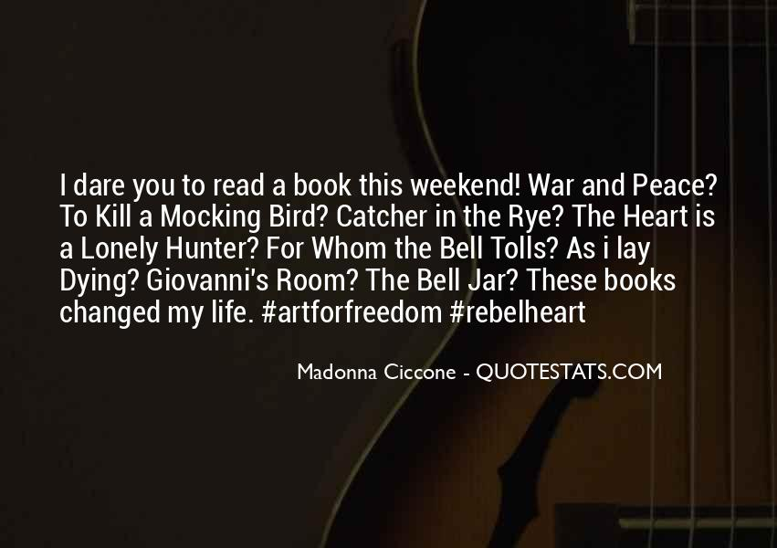 For Whom The Bell Quotes #1321076