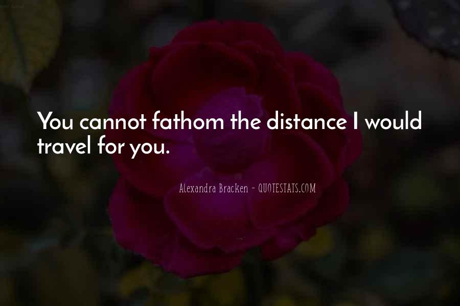 For You I Would Quotes #16139