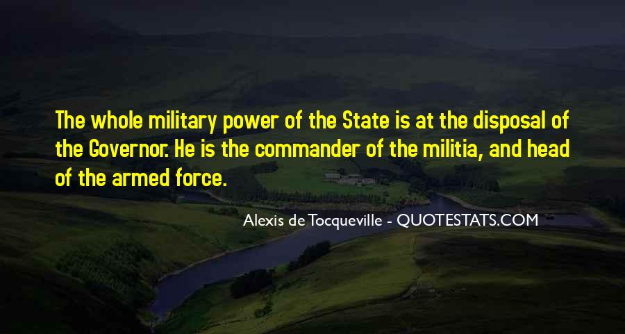 Force Commander Quotes #1007887