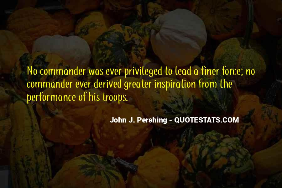 Force Commander Quotes #126061