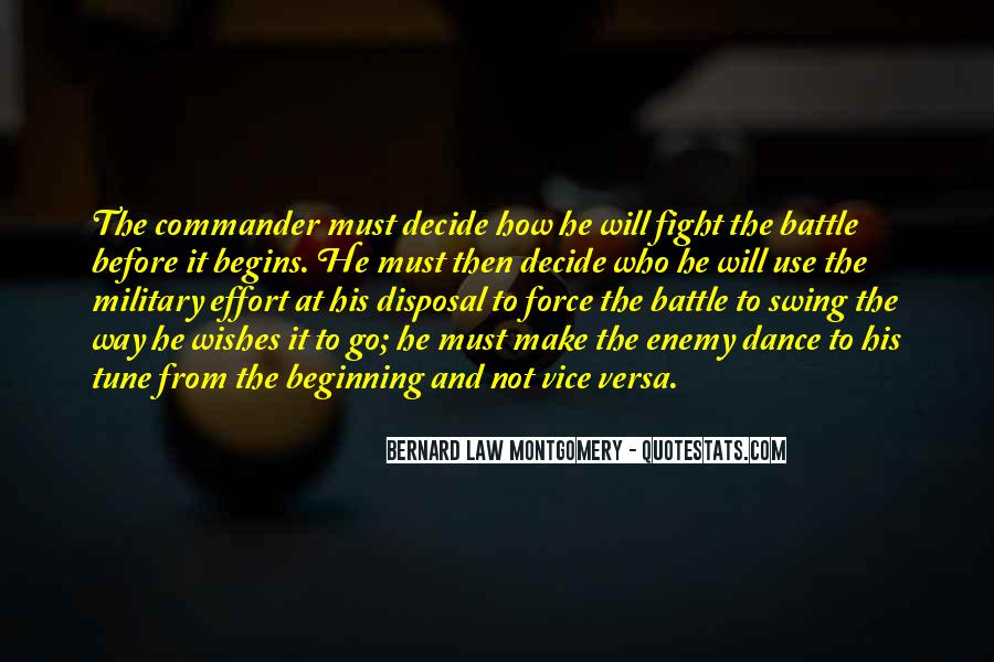 Force Commander Quotes #16667
