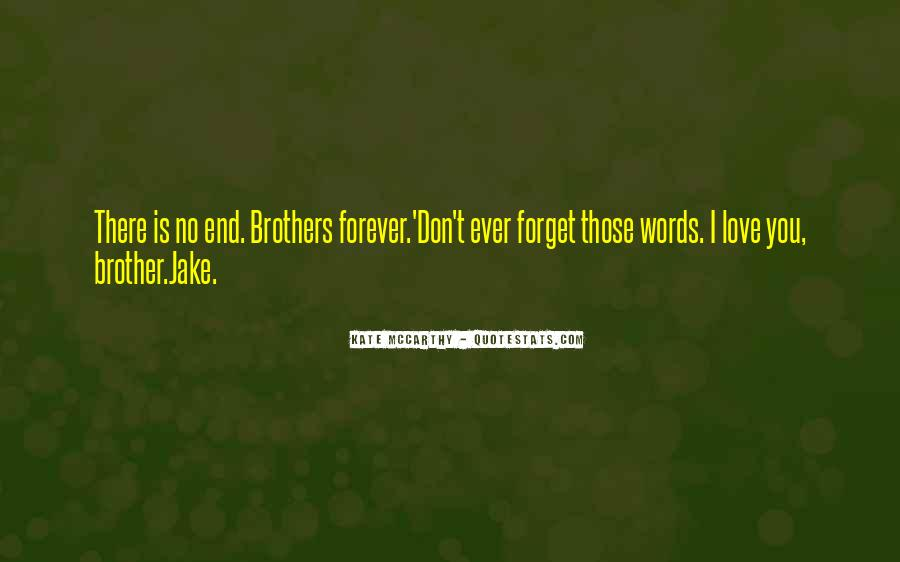 Forever Until The End Quotes #113448