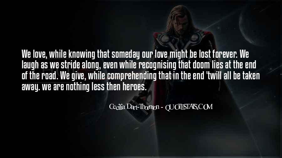 Forever Until The End Quotes #131841