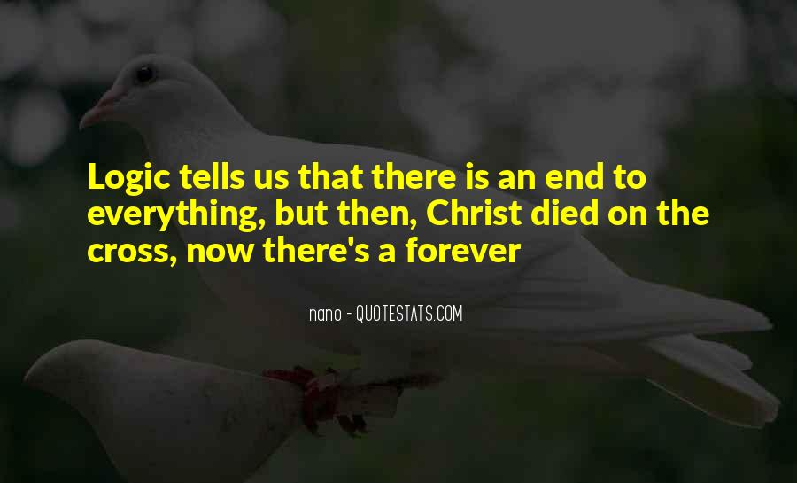 Forever Until The End Quotes #151002