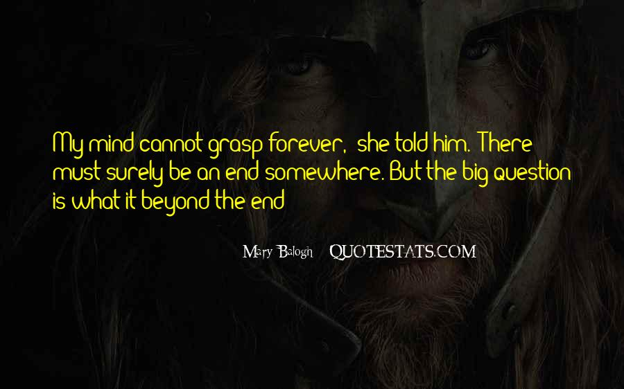 Forever Until The End Quotes #194044