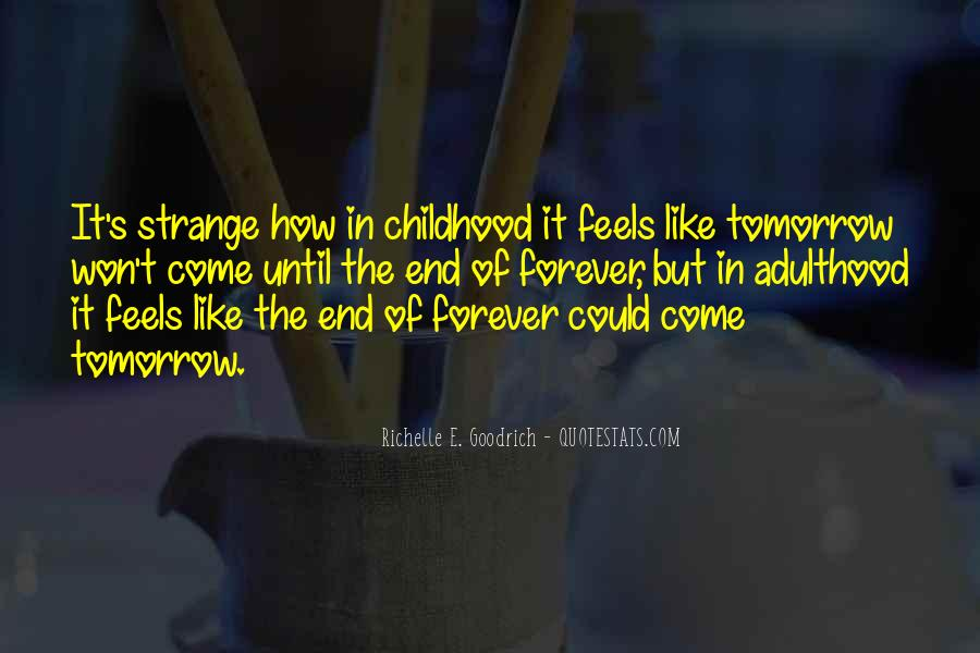 Forever Until The End Quotes #242