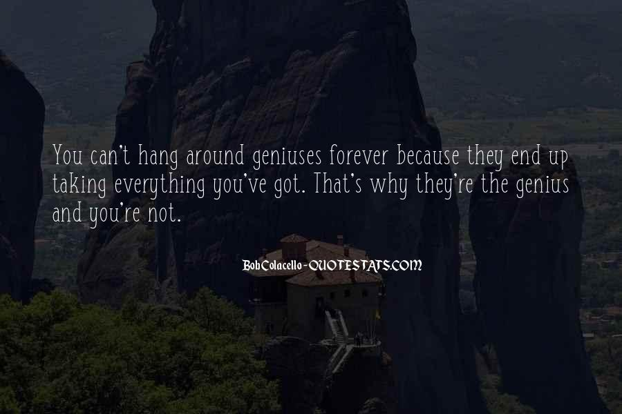Forever Until The End Quotes #48633