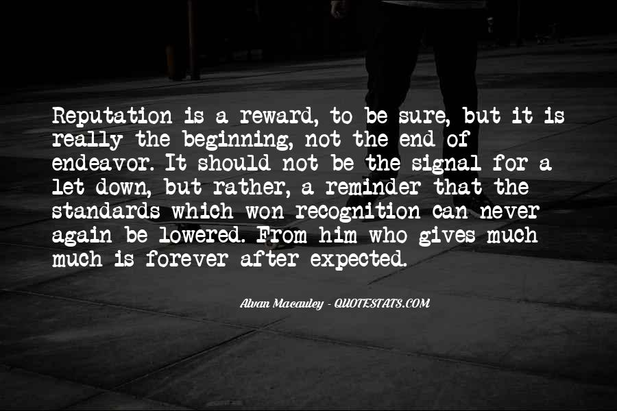 Forever Until The End Quotes #64603
