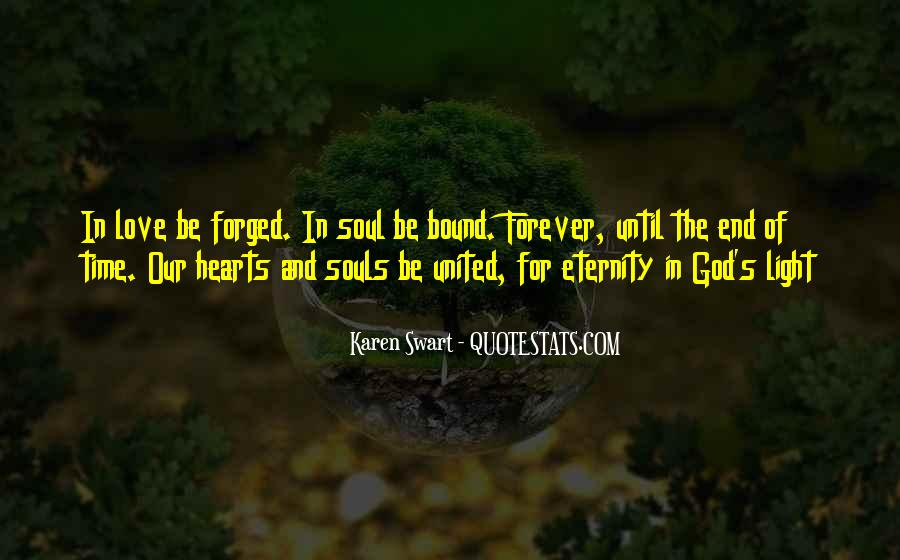 Forever Until The End Quotes #757318