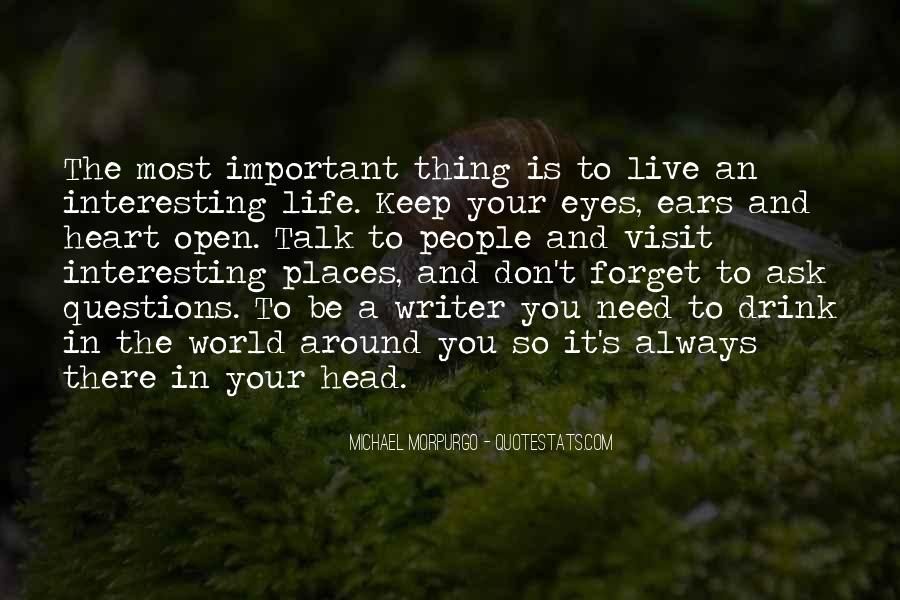 Forget Life Quotes #58548