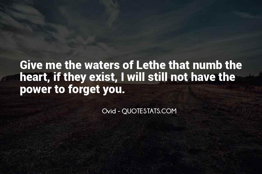Forget Me Not Love Quotes #530577