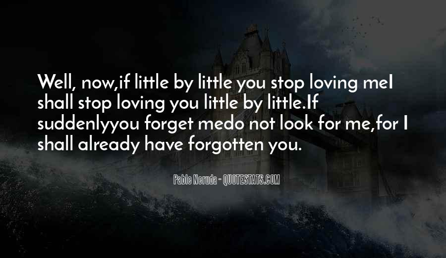 Forget Me Not Love Quotes #901189