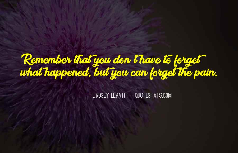 Forget What Happened In The Past Quotes #361039