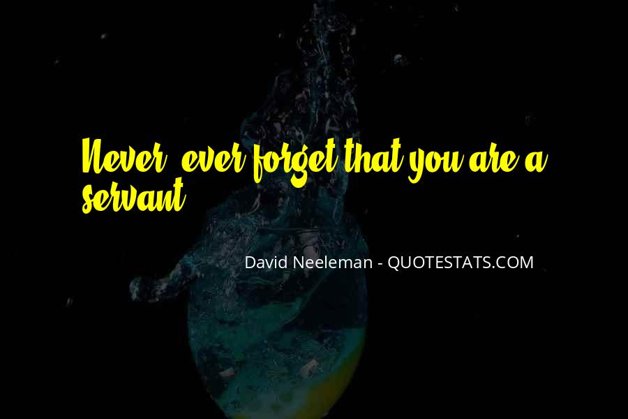 Forget You Never Quotes #100695