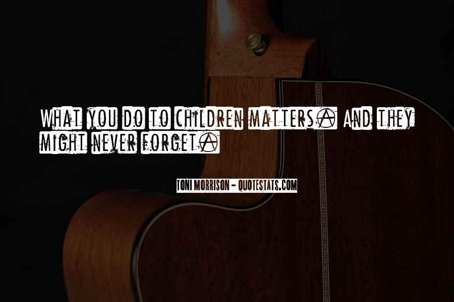 Forget You Never Quotes #135538