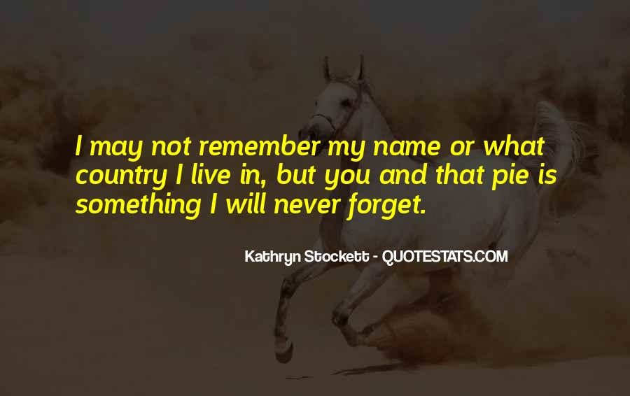 Forget You Never Quotes #229441