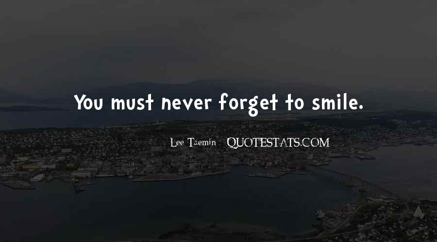 Forget You Never Quotes #24638