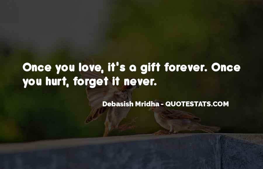 Forget You Never Quotes #29142