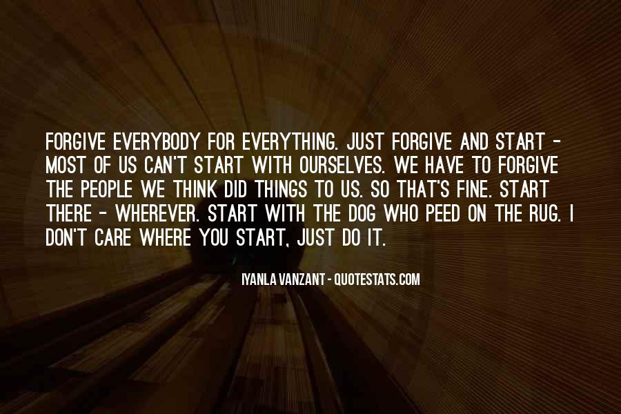 Forgive And Start Over Quotes #1594023