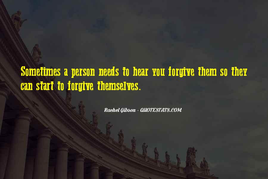 Forgive And Start Over Quotes #1625114