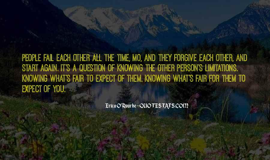 Forgive And Start Over Quotes #1701166