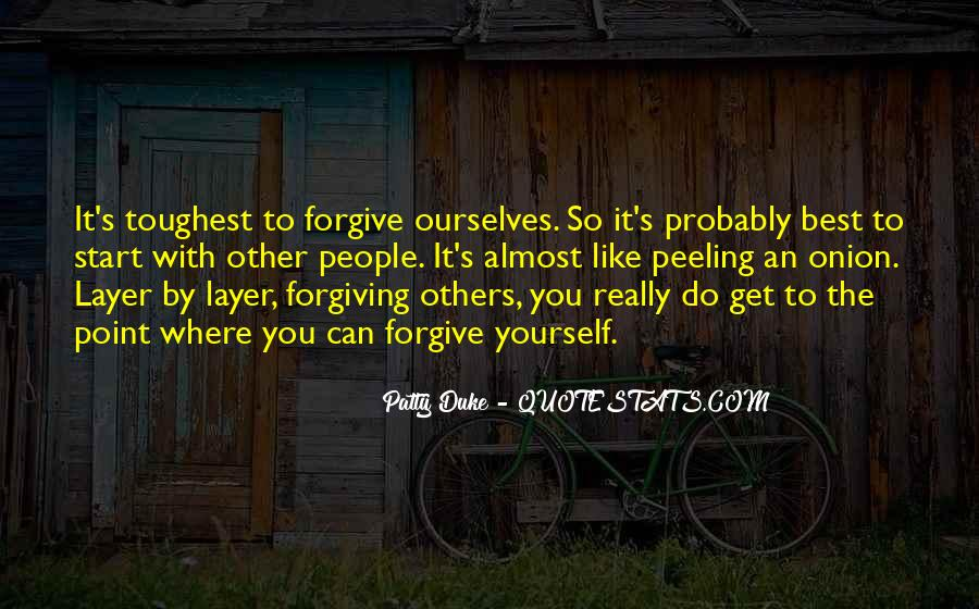 Forgive And Start Over Quotes #1723398