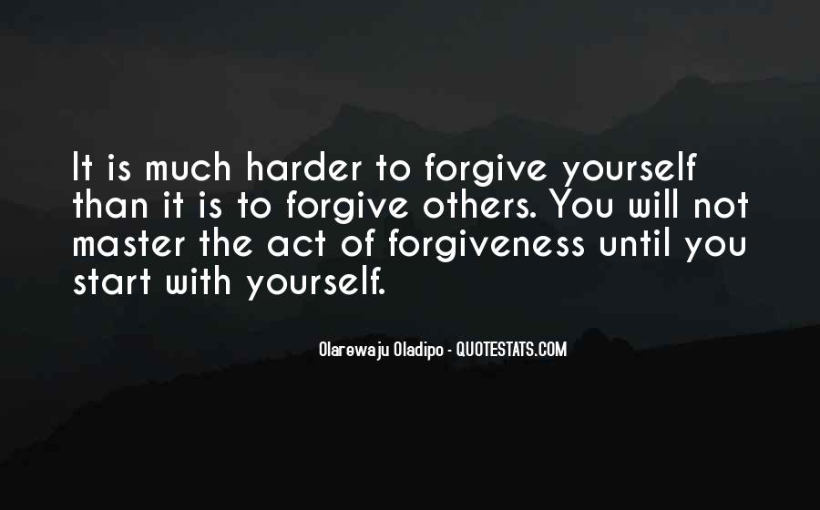 Forgive And Start Over Quotes #771411