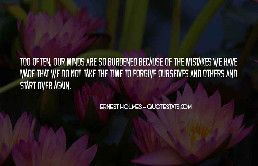 Forgive And Start Over Quotes #898589