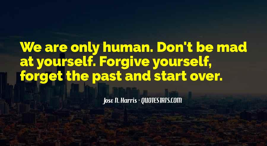 Forgive And Start Over Quotes #950726