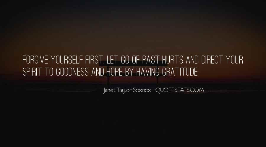 Forgive Yourself And Let Go Quotes #1279480