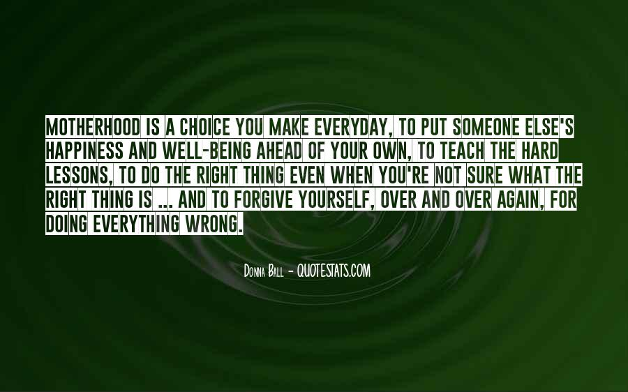 Forgive Yourself And Let Go Quotes #2240