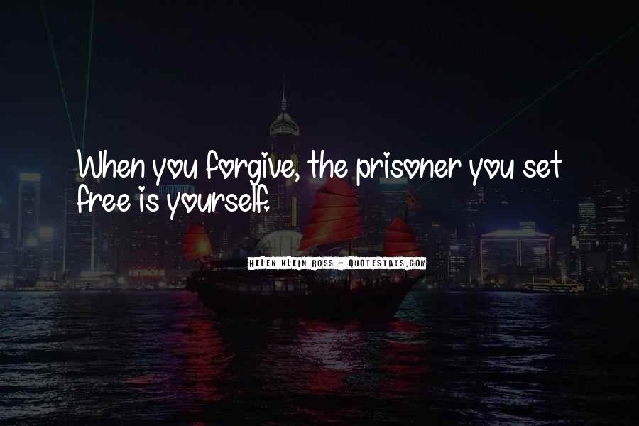 Forgive Yourself And Let Go Quotes #3350