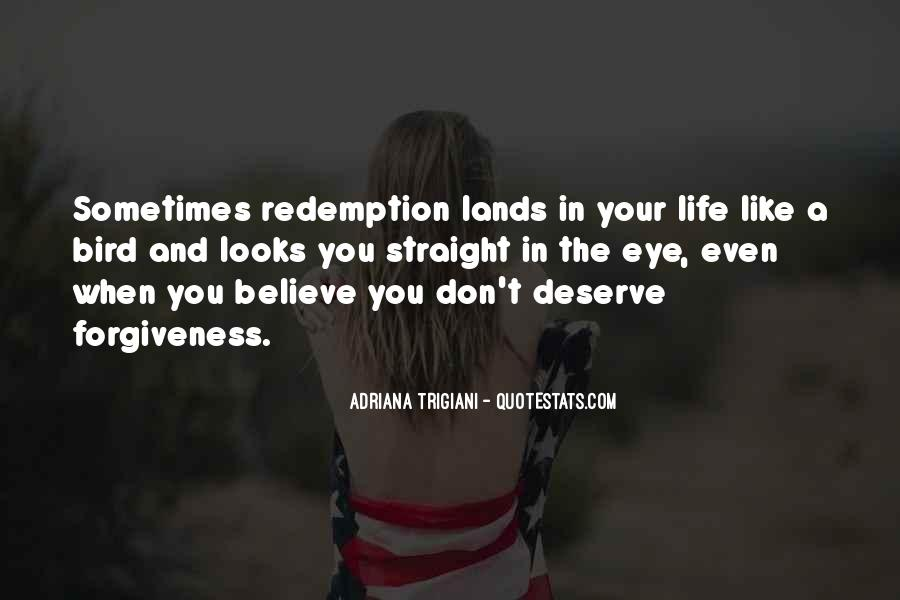 Top 37 Forgiveness And Redemption Quotes: Famous Quotes ...