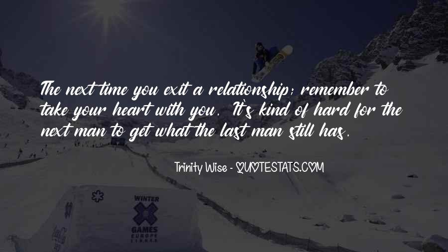 Quotes About Hard Time In A Relationship #1463000