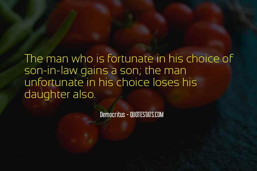 Fortunate Unfortunate Quotes #1326312