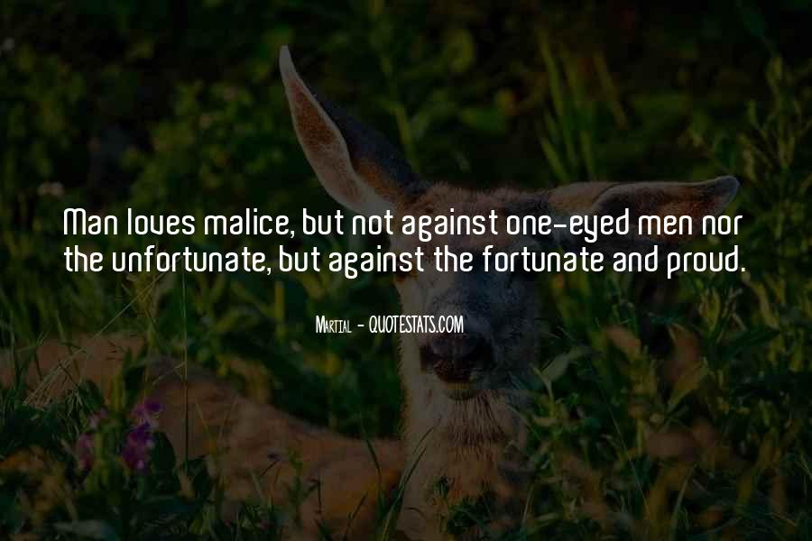 Fortunate Unfortunate Quotes #523789