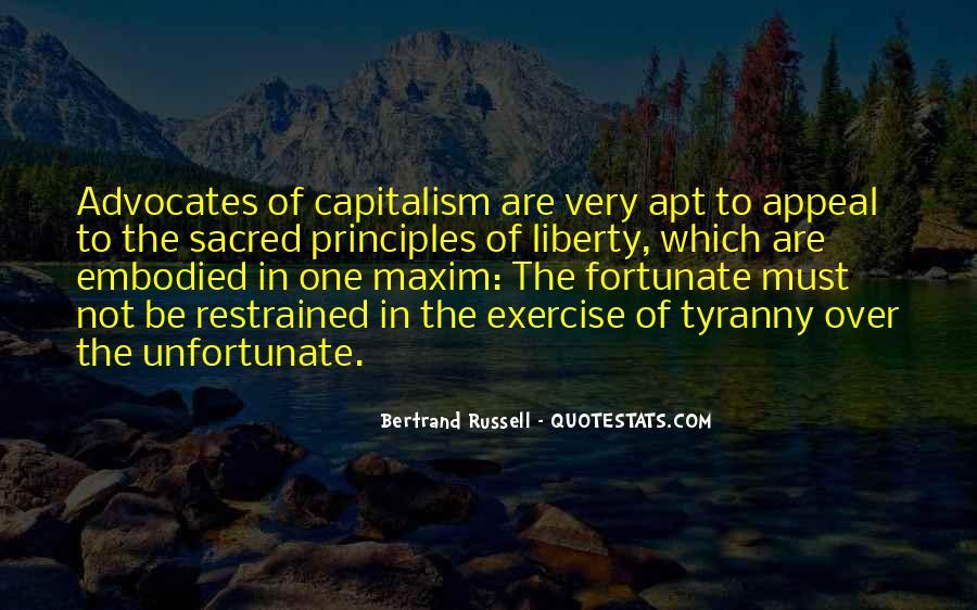 Fortunate Unfortunate Quotes #735642